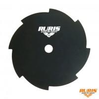 Disc motocoasa pentru tuns iarba, Ruris, otel, 8 dinti, D 250 mm