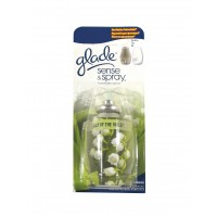 Odorizant camera Glade Sense & Spray, rezerva aparat, lacramioare, 18 ml