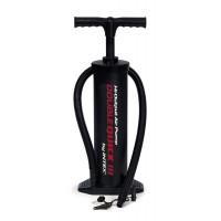 Pompa aer pentru produse gonflabile, manuala, Intex, cu furtun + 3 adaptoare 48 cm