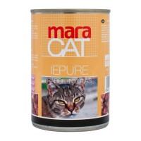 Hrana umeda pentru pisici, Maracat, adult, carne de iepure, 410 g