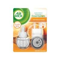 Odorizant camera Air Wick, aparat electric + rezerva, citrice, 19 ml