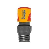 Conector furtun Hozelock, cu AquaStop, plastic, 5/8 - 3/4 inch