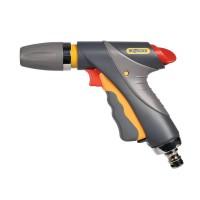 Pistol de stropit Hozelock Jet Spray Pro Light, PVC + metal, debit reglabil, 3 jeturi stropire
