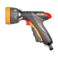 Pistol de stropit Hozelock Multi Spray Pro Light, PVC + metal, debit reglabil, 7 jeturi stropire