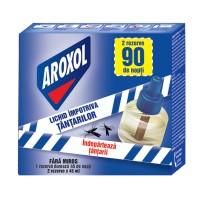 Lichid impotriva tantarilor Aproxol, fara miros, 2 rezerve  x 45 ml