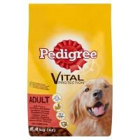 Hrana uscata pentru caini, Pedigree Vital Protection, adult, carne de vita si pasare, 8.4kg