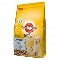 Hrana uscata pentru caini, Pedigree Vital Protection, junior, carne de pui si orez, 3kg