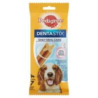 Hrana complementara pentru caini, Pedigree DentaStix, adult, 7 buc, 180g