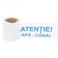 Banda avertizare apa-canal, 0.15 x 100 m