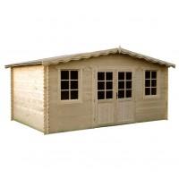 Casuta pentru gradina, cu fereastra, DD5, lemn 495 x 400 cm