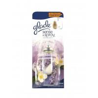 Odorizant camera Glade Sense & Spray, rezerva aparat, floral, 18 ml