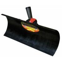 Lopata pentru impins zapada, polipropilena, BlackJack, cu coada lemn
