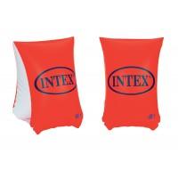 Aripioare inot pentru copii Intex Deluxe 58641EE, vinil, 30 x 15 cm, set 2  buc