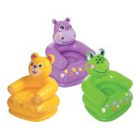 Scaun gonflabil pentru copii Intex Happy Animal, 75 x 65 x 64 cm