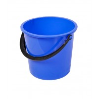 Galeata din plastic, rotunda, stk, albastra, 5L