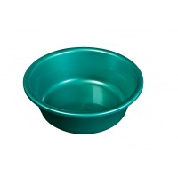 Lighean rotund, plastic, verde, 12 L, 450 x 140 mm