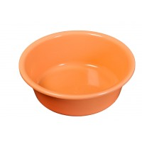 Lighean rotund, plastic, portocaliu, 4 L, 300 x 110 mm