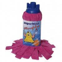 Rezerva mop microfibra Supermop, 30 x 30 cm
