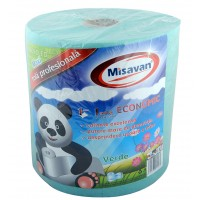 Prosop hartie rola Misavan Maxi Economic, verde, 1 strat, L 300 m, 1 buc / set