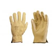 Manusi de protectie Gantex Com 2210, din piele bovina, marimea 10