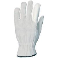 Manusi de protectie Gantex Com 1219, din piele integrala + piele spalt bovina, marimea 9