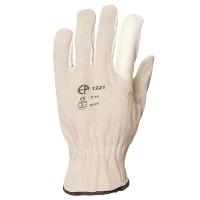 Manusi de protectie Gantex Com 1220, din piele integrala + piele spalt bovina, marimea 10