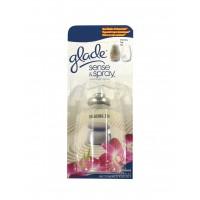 Odorizant camera Glade Sense & Spray, rezerva, relaxing zen, 18 ml