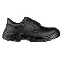 Pantofi de protectie Marvel Still BS102, cu bombeu metalic, piele PU neagra, S3 SRC, marimea 43