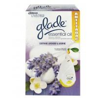 Odorizant camera Glade AntiTabac, aparat electric + rezerva, lavanda , 20 ml