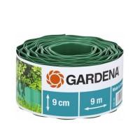 Separator gazon Gardena 00536-20, plastic, verde, 9 cm x 9 m
