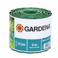 Separator gazon Gardena 00538-20, plastic, verde, 15 cm x 9 m