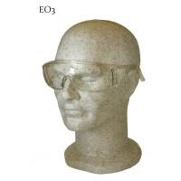 Ochelari de protectie Interbabis EO3, policarbonat, incolor