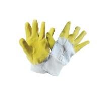 Manusi de protectie antiintepatura, textil + latex, marime universala, Gantex Com EM17