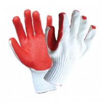 Manusi de protectie antitaiere, bumbac + cauciuc, marime universala, Gantex Com EM46