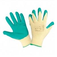 Manusi de protectie antiintepatura, textil + latex natural, marimea 9, Gantex Com EM32