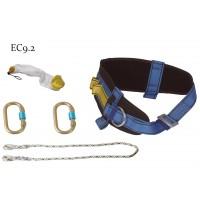 Centura siguranta lombara Interbabis Pirineos EC9.2, lucru la inaltime