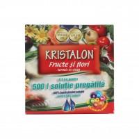 Ingrasamant universal Kristalon, fructe si flori, granule, 0.5 kg