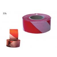 Banda delimitare, dungi rosu / alb, latime 70 mm, 500 m