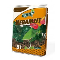 Granule decorative naturale argila Keramzit, interior / exterior, 8-16 mm, 5L