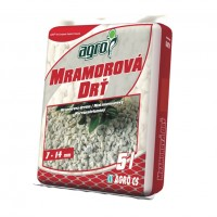 Granule decorative naturale marmura Agro CS, interior / exterior, 7-14 mm, 5L