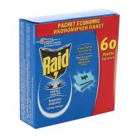 Pastile antitantari Raid, pentru aparat electric, 60 BUC