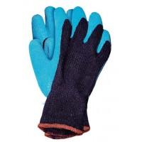 Manusi de protectie Marvel Recowindrag, din fibre mixte + latex, marimea XL