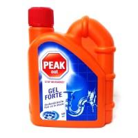 Solutie pentru desfundarea tevilor Peak Out Gel Forte 500 ml