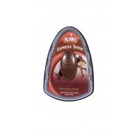 Burete silicon pantofi Kiwi Express Shine, maro, 6 ml