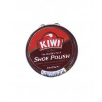 Crema pantofi piele Kiwi Shoe Polish, maro, 50 ml