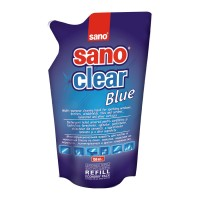 Rezerva solutie geamuri Sano Clear blue / green, 750 ml