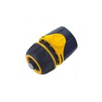 Cupla furtun DY8011DL, cu aquastop, plastic, 1/2 inch