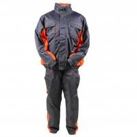 Costum de iarna pentru protectie Kastor, poliuretan, gri, XL