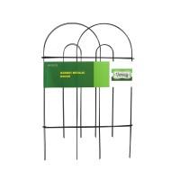 Gardulet metalic, decorativ Versay HY15-03, pentru gradina, 20 x 81 cm, 3 buc
