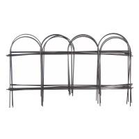 Gardulet metalic, decorativ Versay HY15-05, pentru gradina, 304.8 x 23 cm, 8 buc